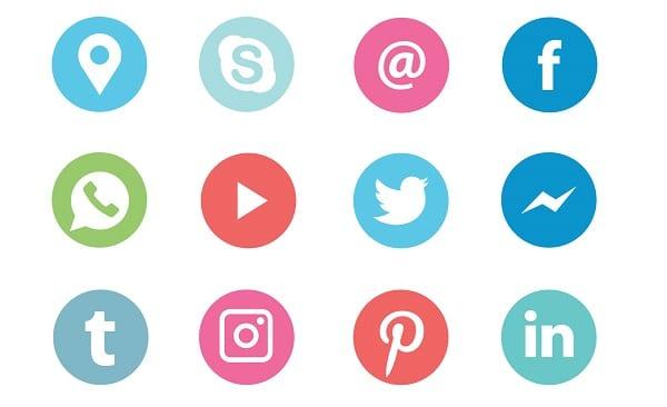 Logos réseaux sociaux